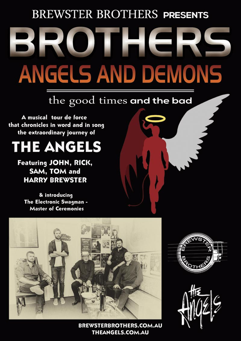 Brothers Angels & Demons - The Story Of The Angels - The Good Times & The Bad