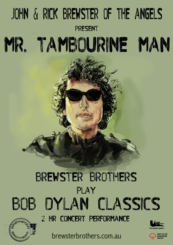 Mr Tambourine Man - Brewster Brothers Play Bob Dylan Classics